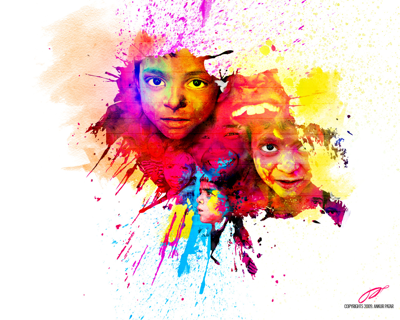ALL IN ONE WALLPAPERS Happy Holi HD Wallpapers 1280x1024