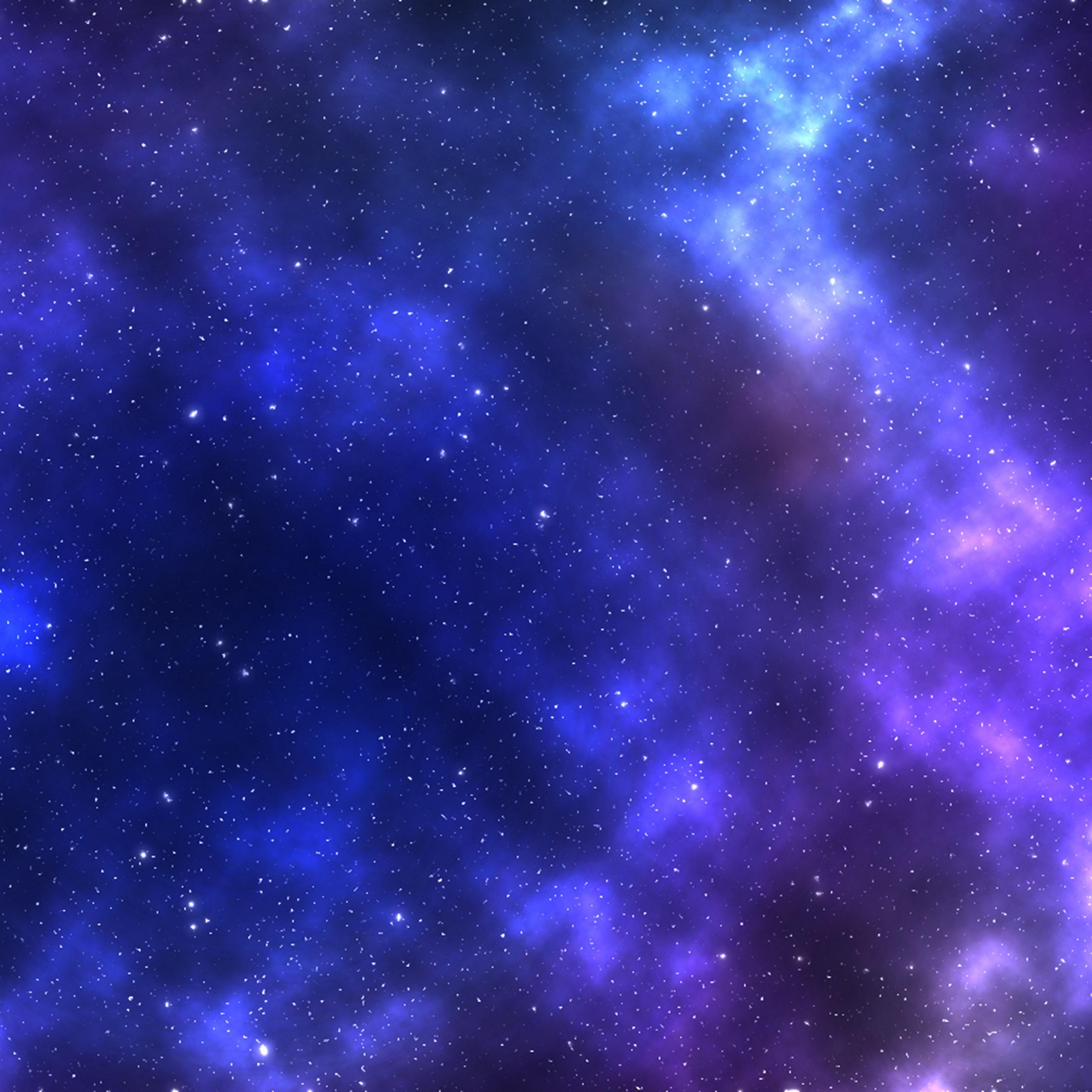 Download wallpaper 2780x2780 starry sky galaxy stars night sky 2780x2780