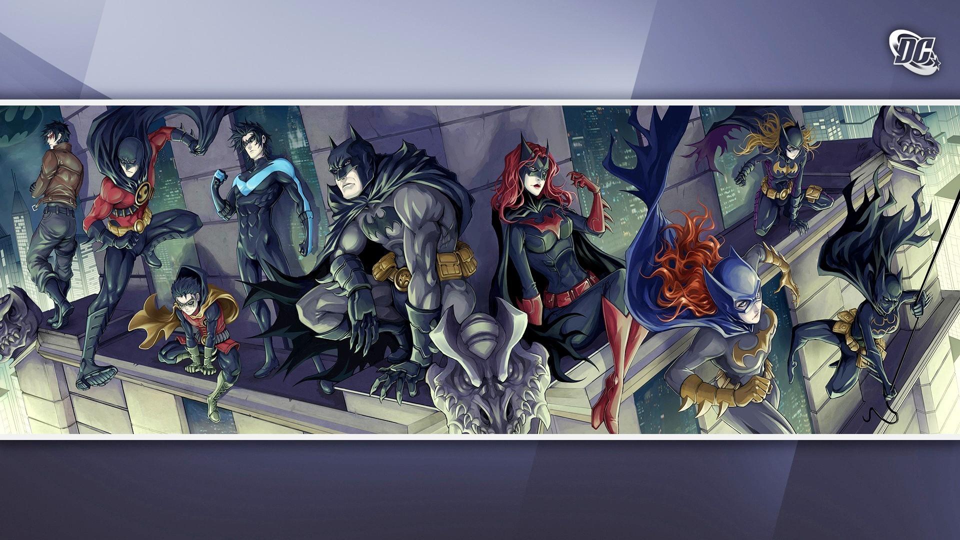 DC comics wallpaper 17459 1920x1080