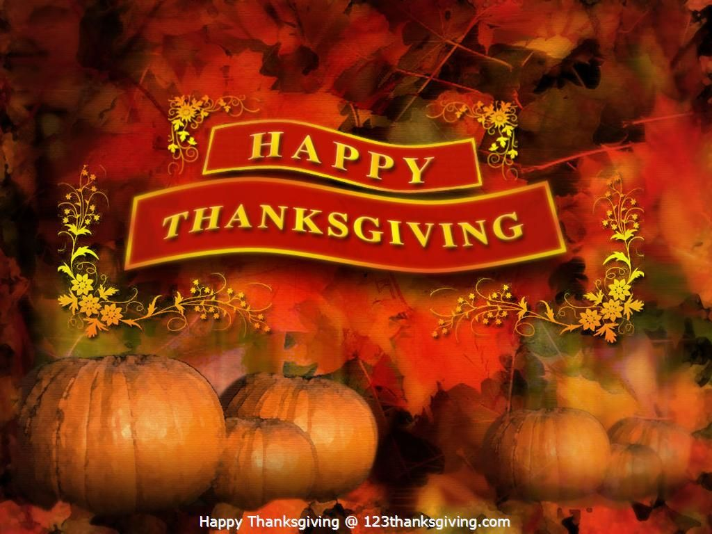 Thanksgiving Desktop Backgrounds Happy Thanksgiving 1024x768