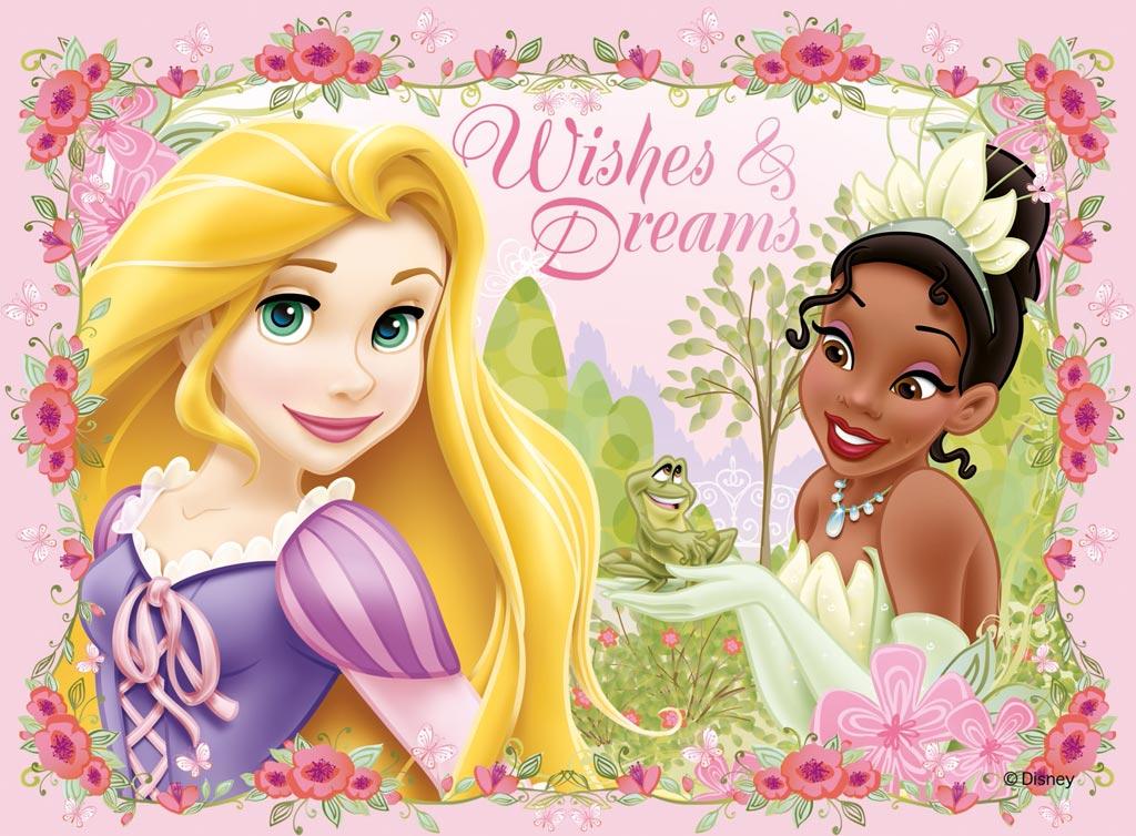 Image   Disney Princess Tiana and Rapunzel Wallpaperjpg   DisneyWiki 1024x754