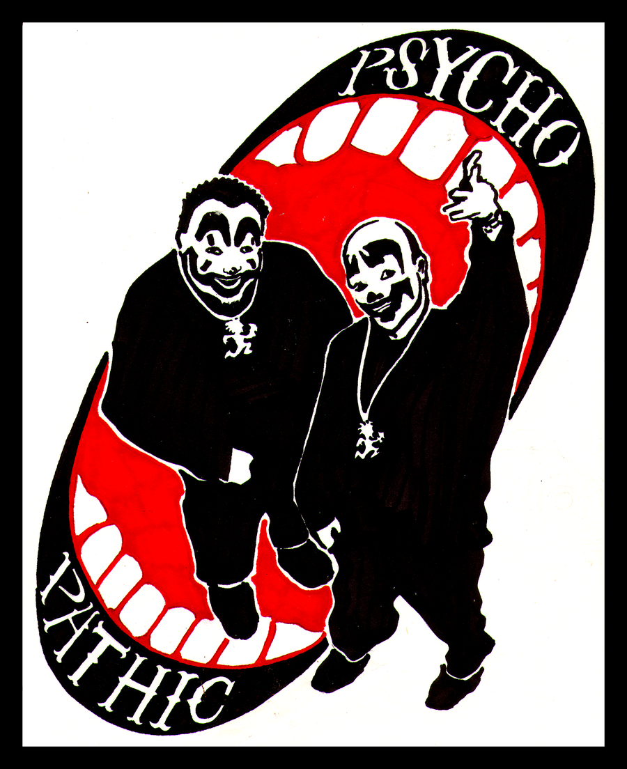 Psychopathic Records Family Wallpaper Psychopathic by mothboss 900x1104