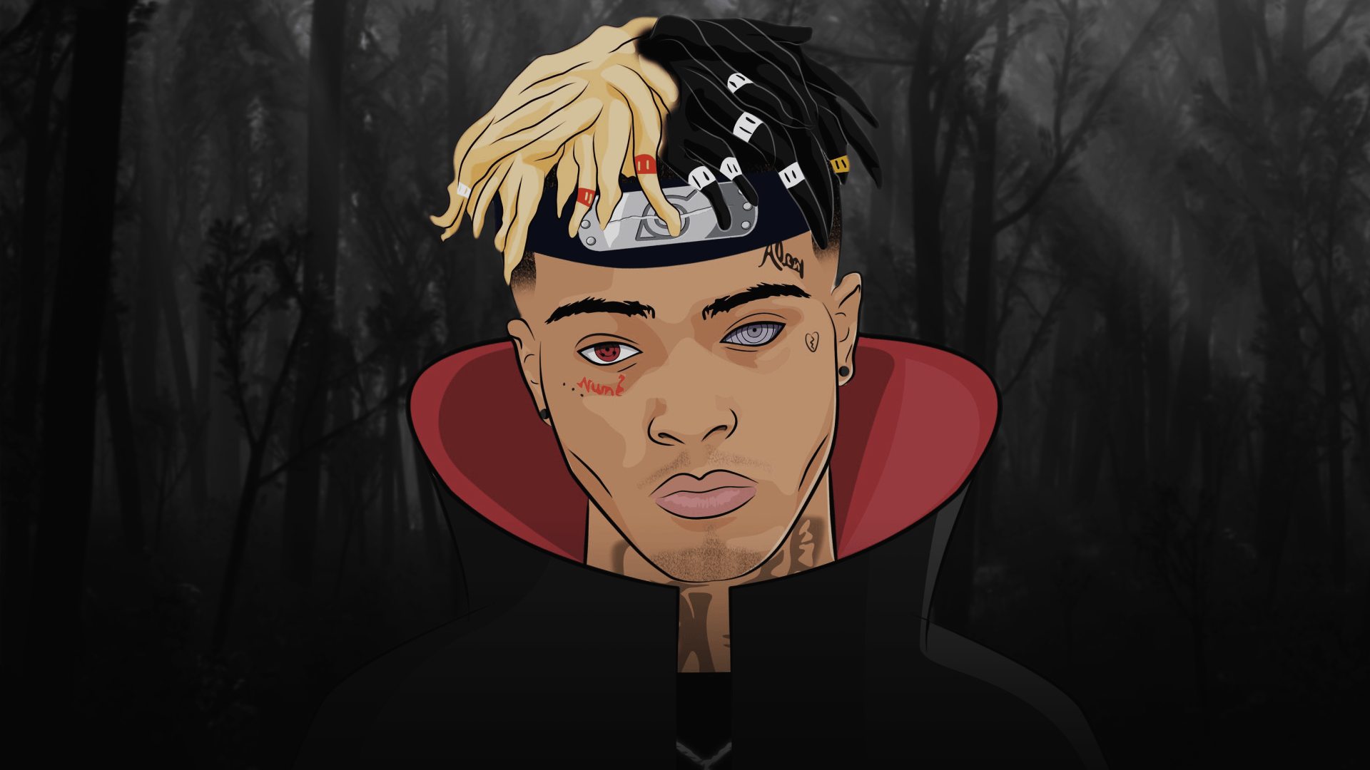 XXXTentacion Cartoon Wallpapers   Top XXXTentacion Cartoon 1920x1080