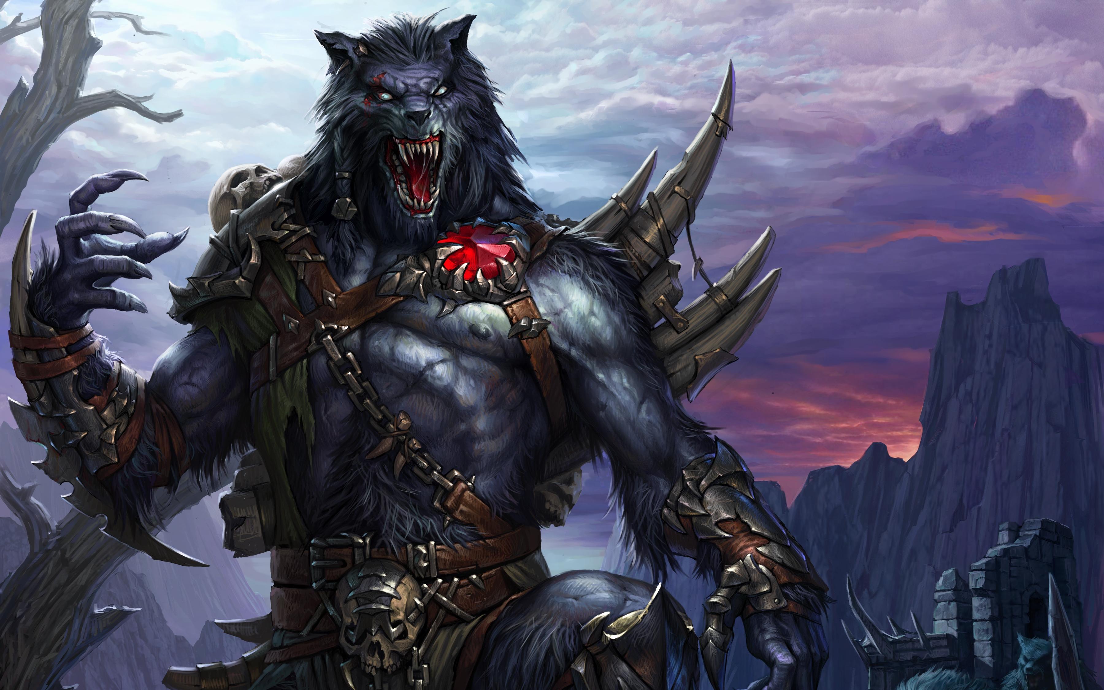 Werewolf Computer Wallpapers Desktop Backgrounds 3600x2250 ID 3600x2250