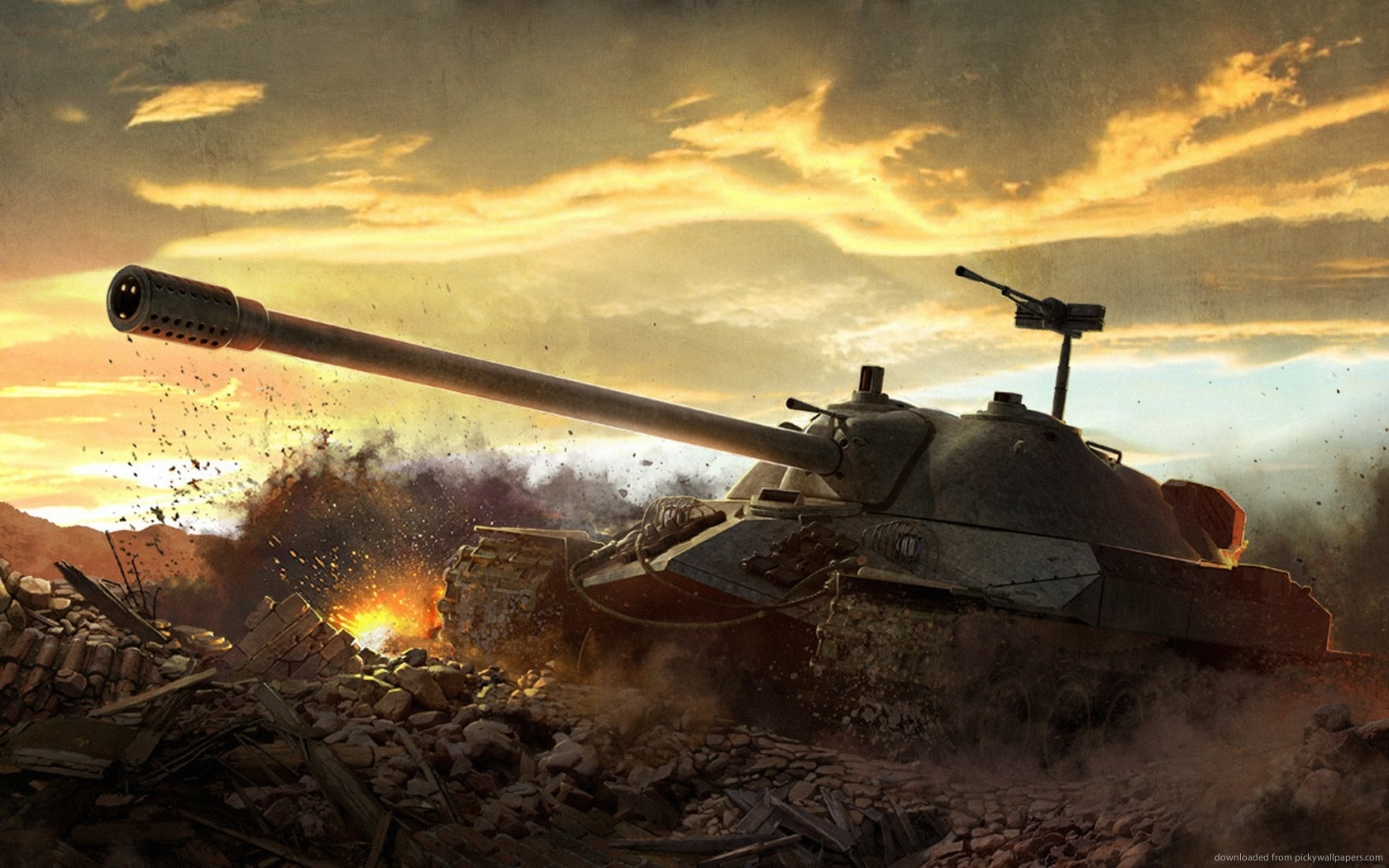 43 World Of Tanks Wallpaper 1680x1050 On Wallpapersafari