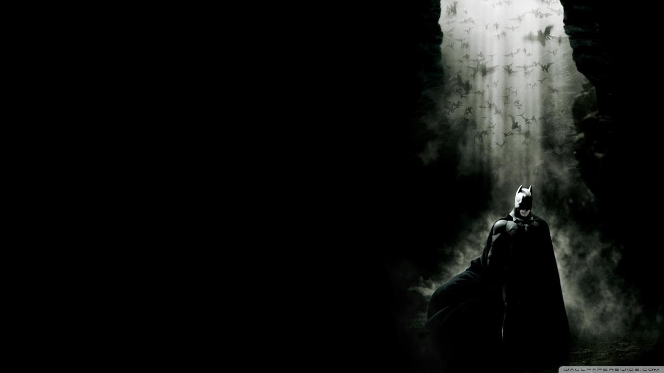 Batman Begins 1 HD desktop wallpaper Widescreen High 1366x768