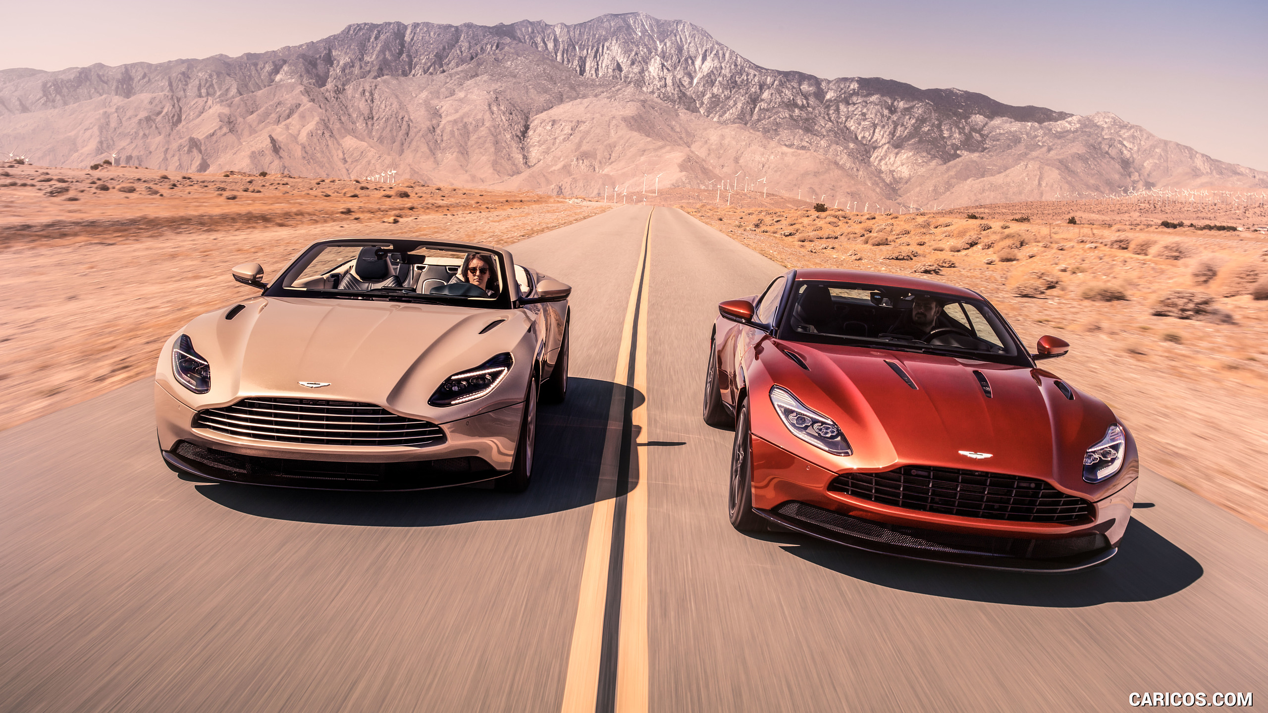 2018 Aston Martin DB11 Volante and DB11 Coupe   Front HD 2560x1440