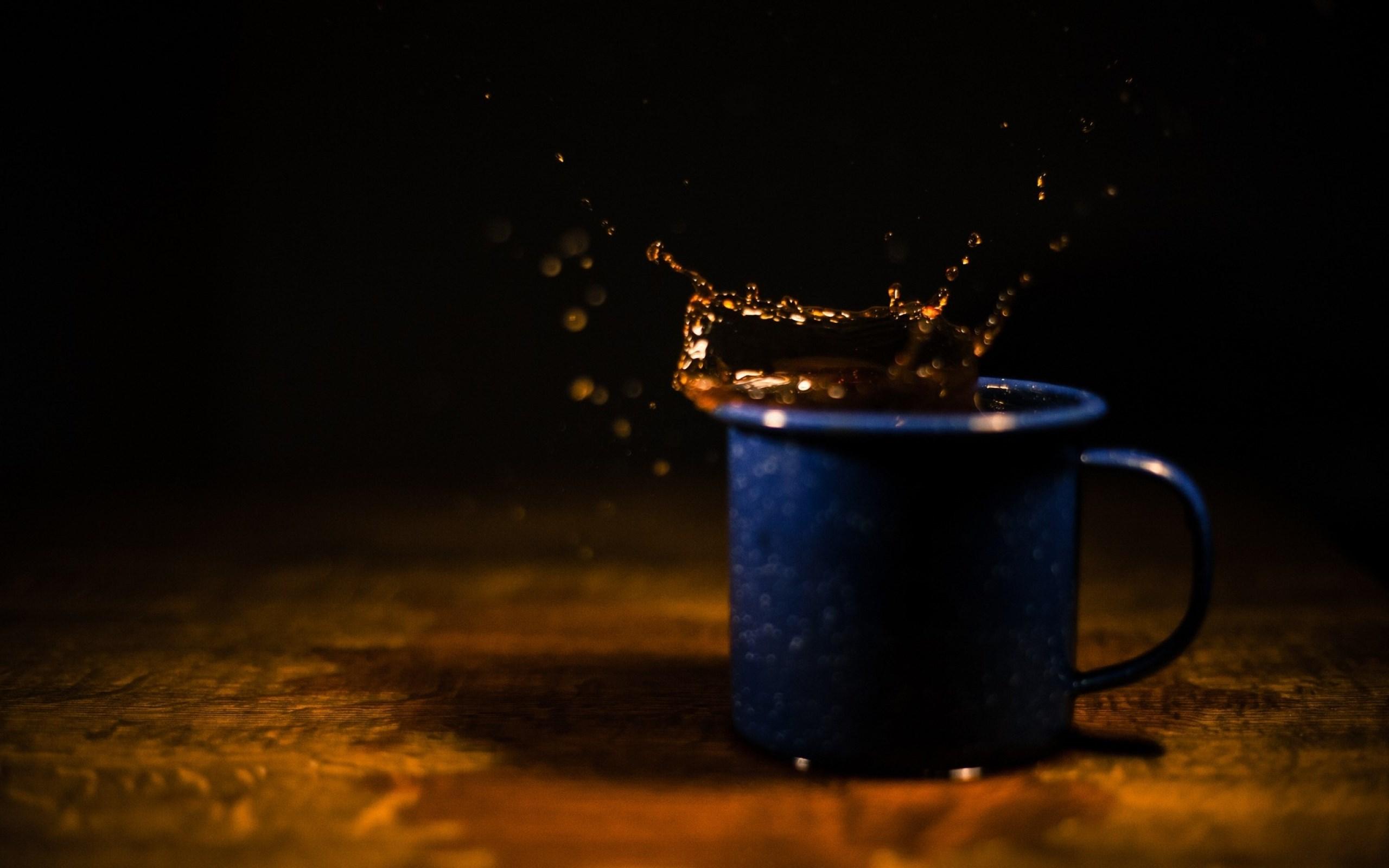 coffee cup splash hd wallpaper   Magic4Wallscom 2560x1600