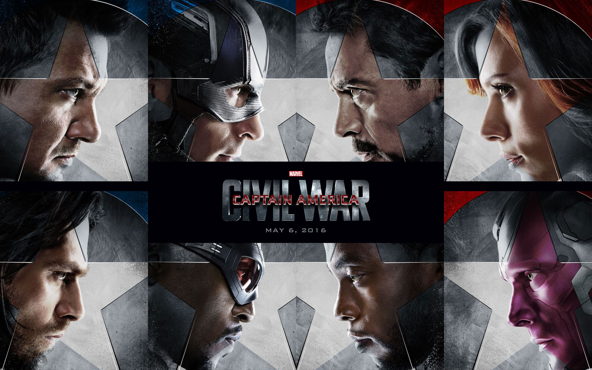 Captain America Civil War 2016 iPhone Desktop Wallpapers HD 1920x1200