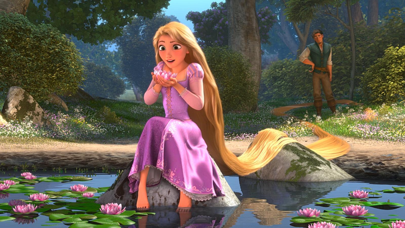 Pics Photos   Beautiful Tangled Rapunzel Wallpaper 1600x900