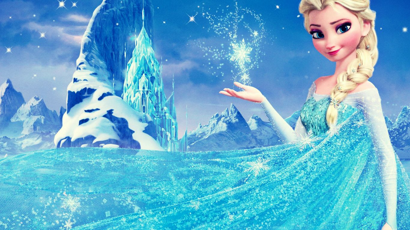 Elsa in Frozen Wallpapers Best Wallpapers FanDownload 1366x768