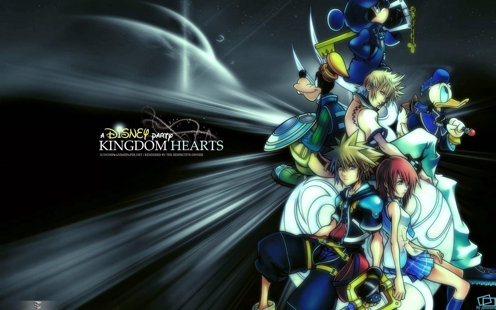 Kingdom Hearts 25 Wallpaper De kingdom hearts hd 25 1600x1000