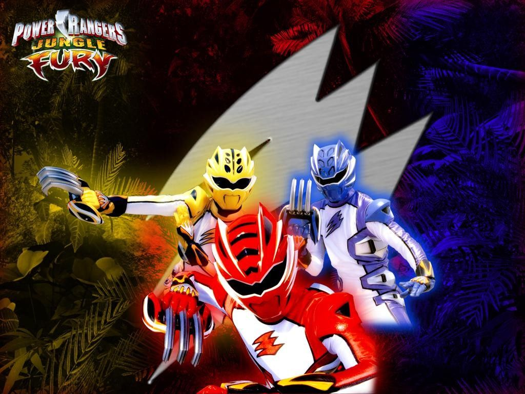 Power Rangers Jungle Fury desktop wallpaper number 2 1024 x 768 1024x768