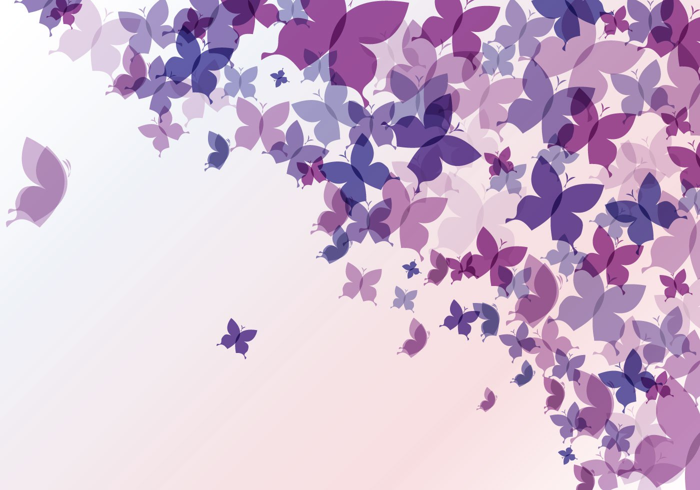 Abstract Butterfly Background   Download Vector Art 1400x980