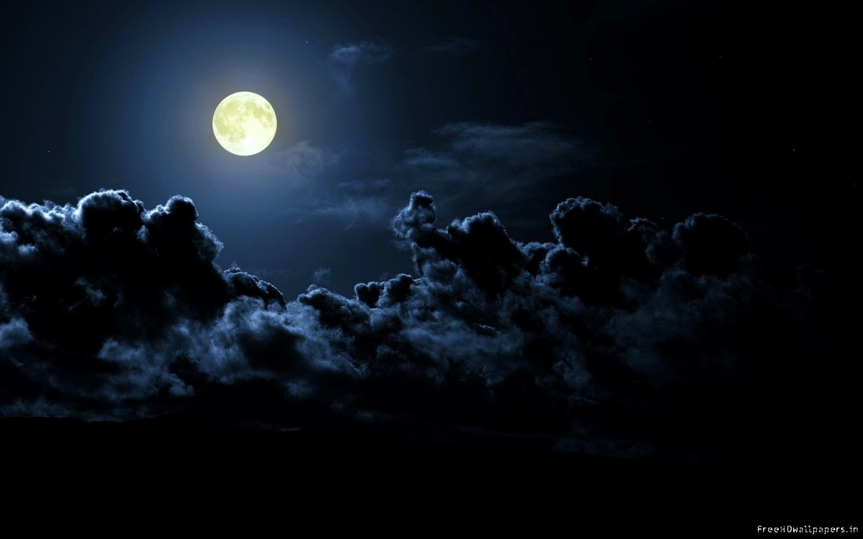 Night Moon Wallpaper - WallpaperSafari