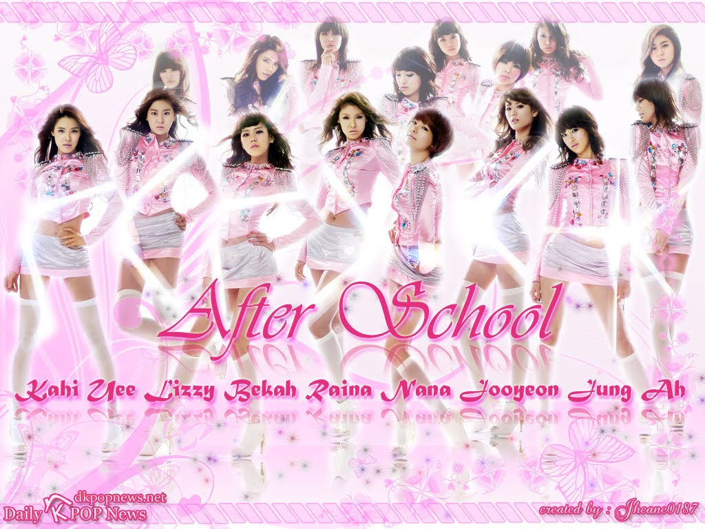 After School Photo K Pop Wall K Pop Fans Website 1024x768