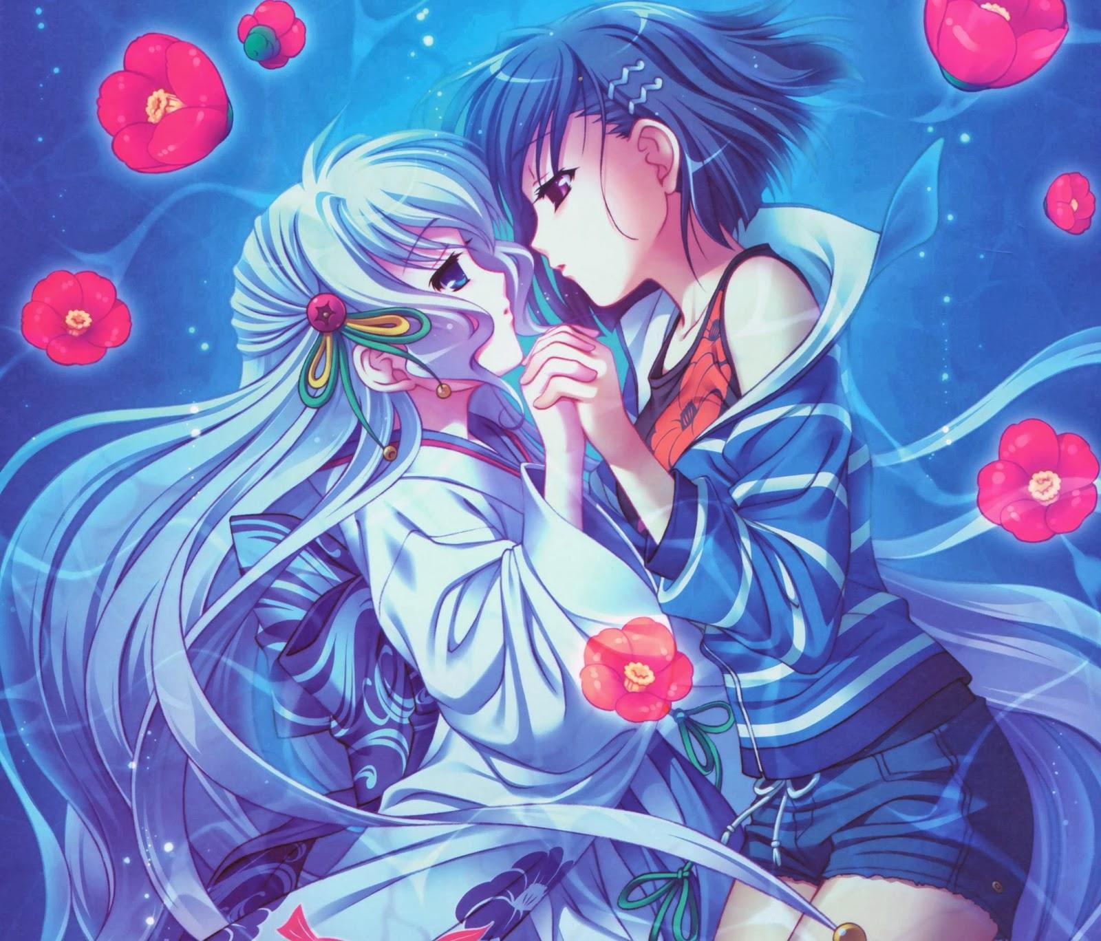 2 girl kiss