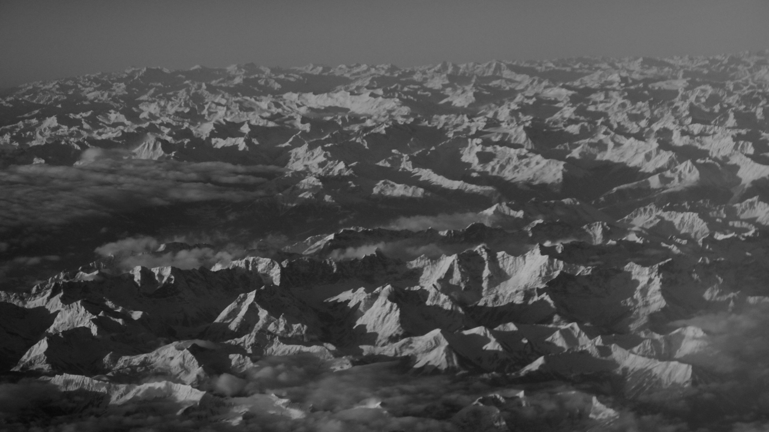 BOTPOST [BOT] The Swiss Alps taken from an airplane last week i 2560x1440