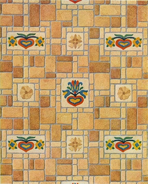 Dollhouse Furnishings Flooring Wallpaper