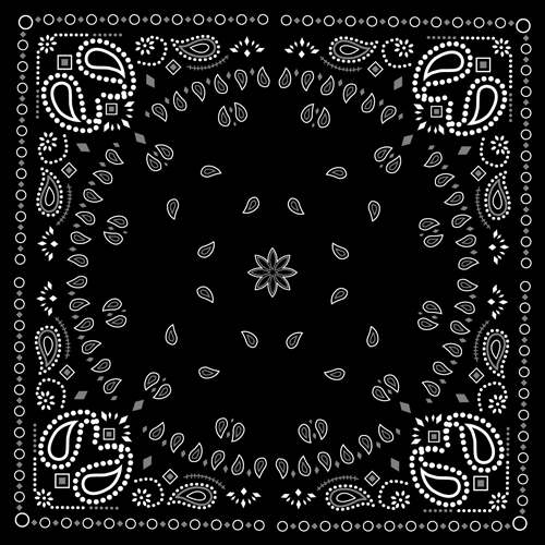 Go Back Gallery For Bandana Pattern Wallpaper 500x500