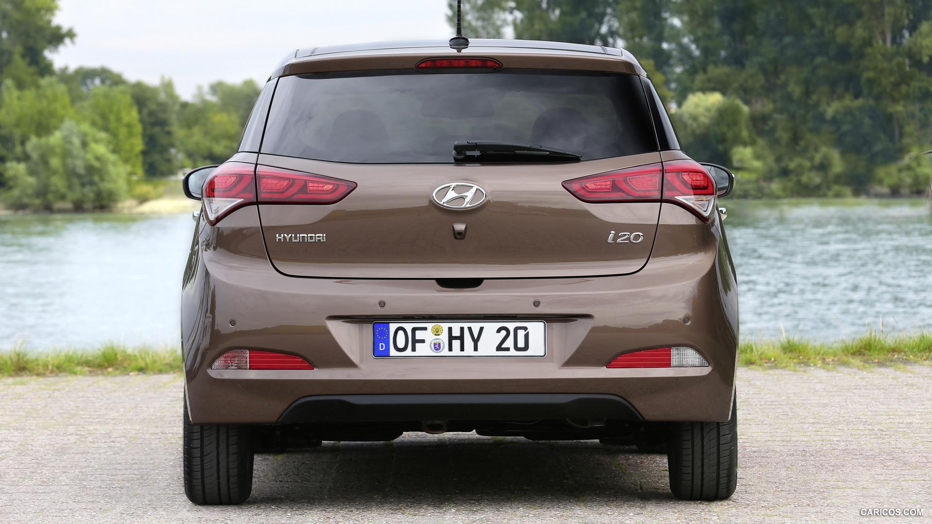 2015 Hyundai i20   Rear HD Wallpaper 12 1920x1080