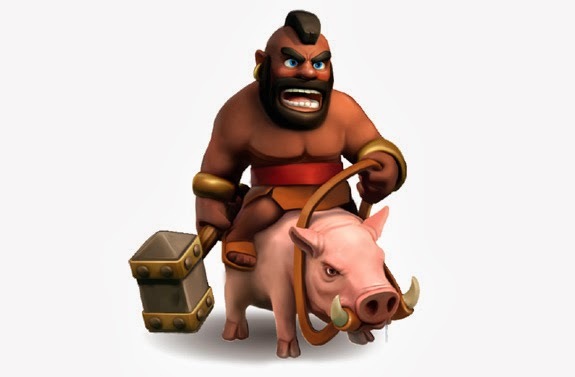 Clash Of Clans Barbarian King Wallpaper Although clash of clans is 575x377