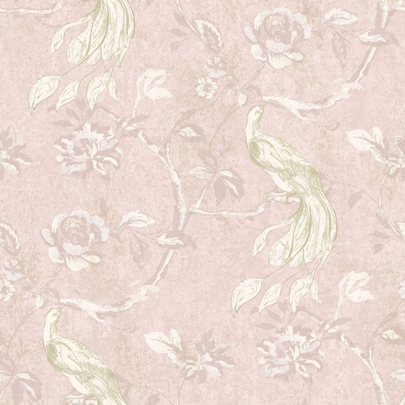 gran deco paradise bird wallpaper pink category decorating wallpaper 800x800