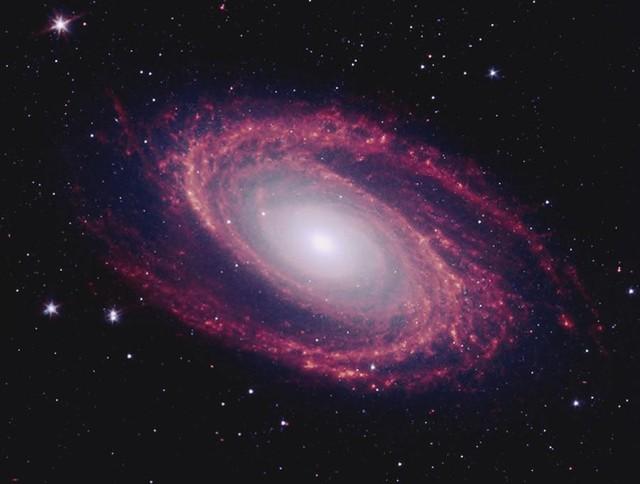 Galaxy Messier 81 Wall Mural contemporary wallpaper 640x484