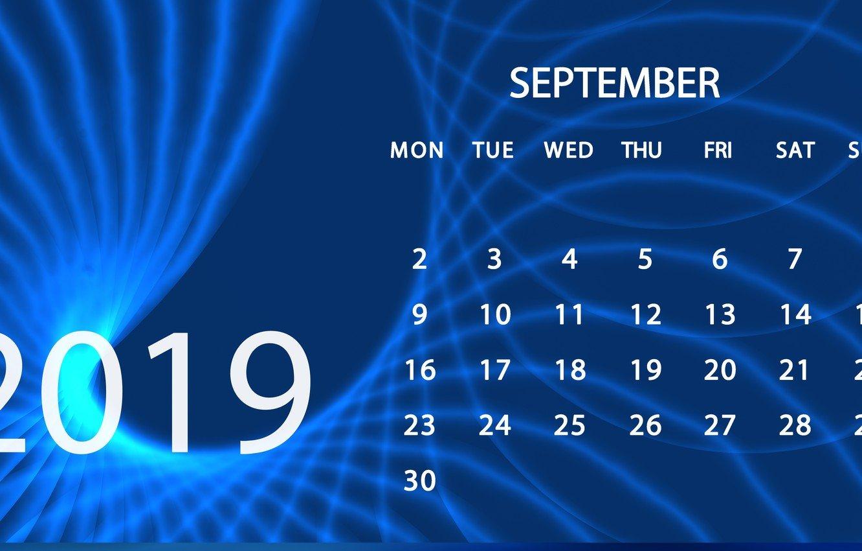 Wallpaper calendar September 2019 images for desktop section 1332x850