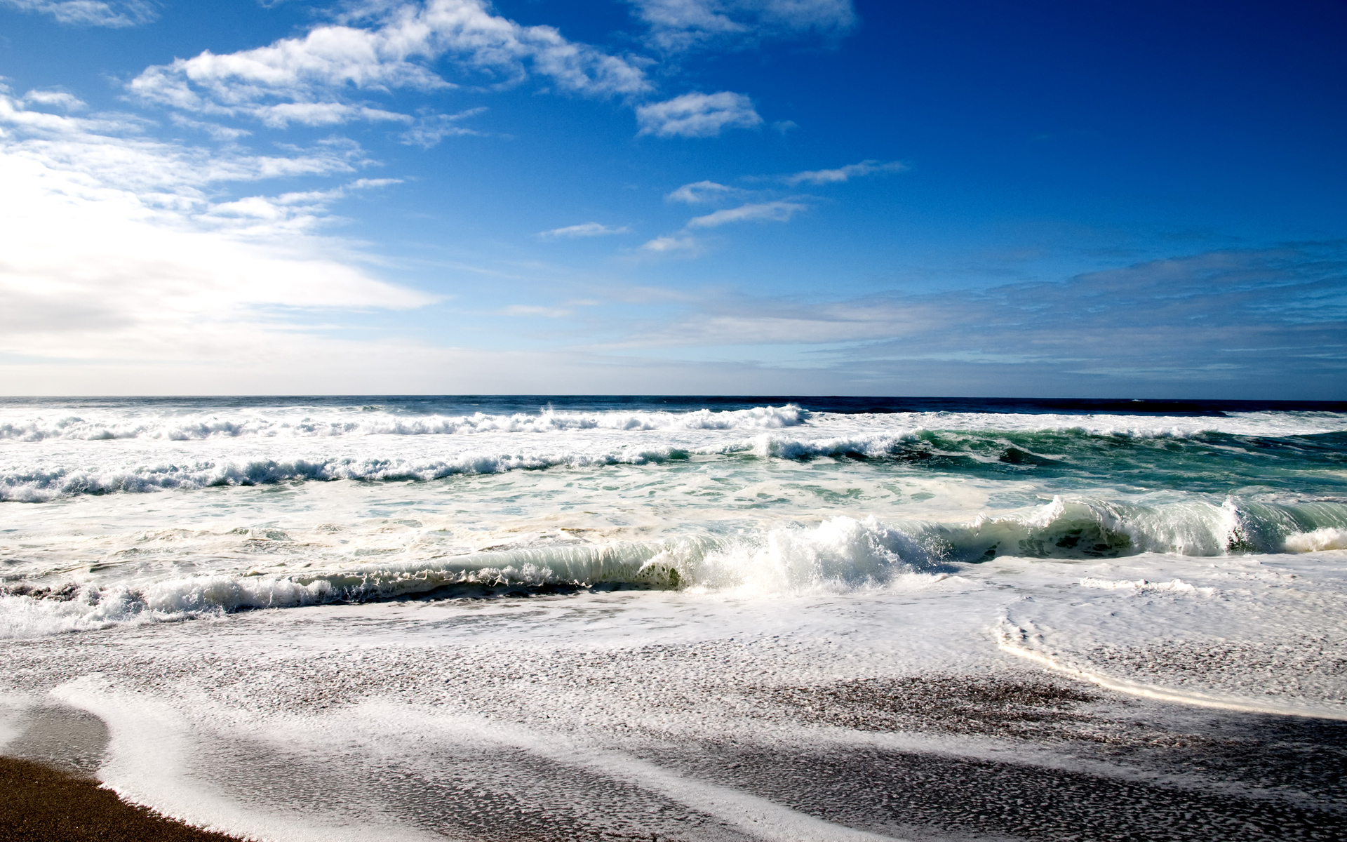 Cool Beach Wide HD Wallpaper | High Quality Wallpapers ...