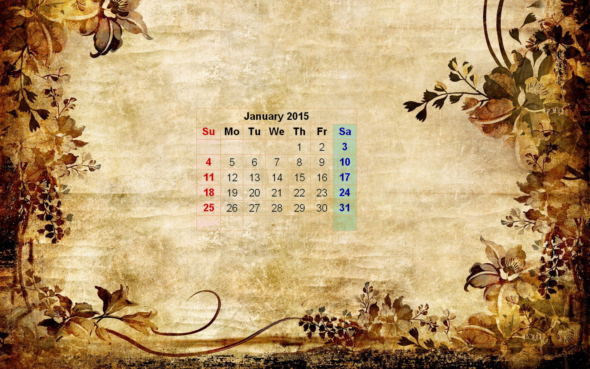January 2015 Wallpaper Calendar New Calendar Template Site 1920x1200