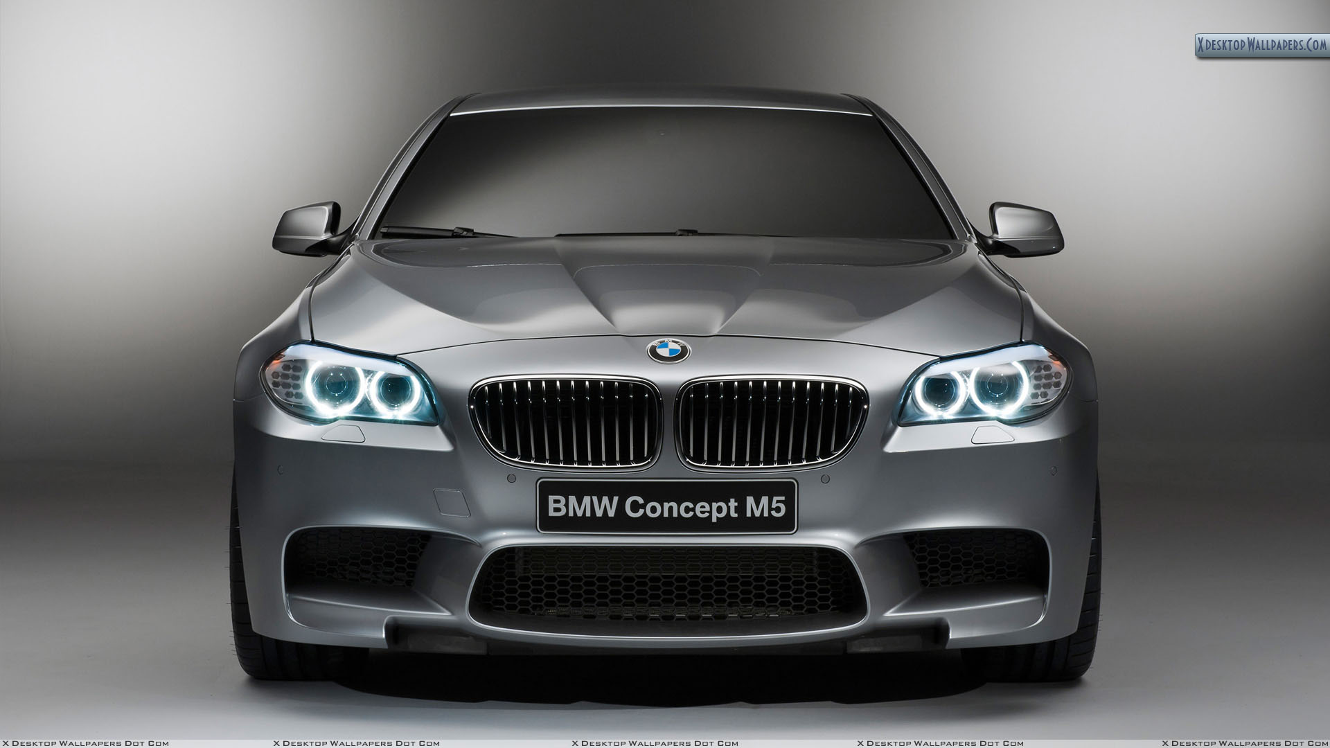 Front Closeup Picture of 2012 BMW M5 Concept 1920x1080