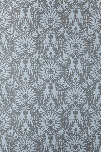 Farrow Ball Renaissance   Wallpaper Ideas Designs   Living Room 426x639
