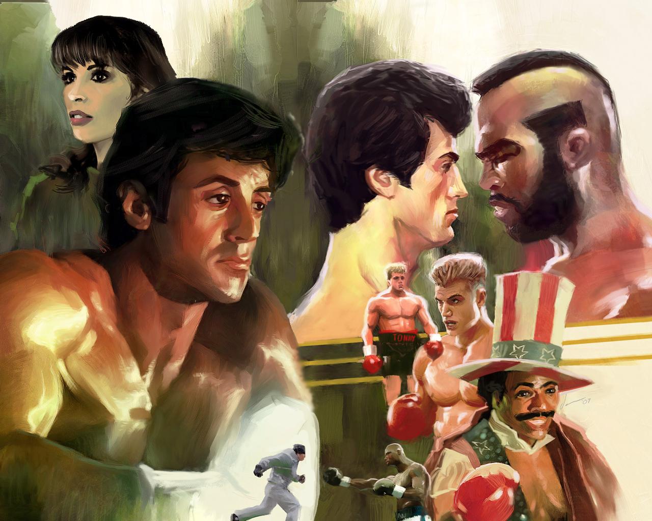 rocky balboa collage the movie redneck 637453 1280x1024