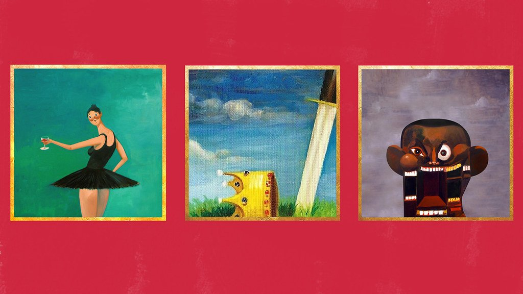 Kanye West My Beautiful Dark Twisted Fantasy Wallpaper Flickr 1024x576