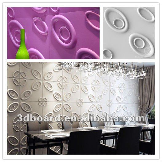 3D board waterproof wallpaper for bathrooms 527x527