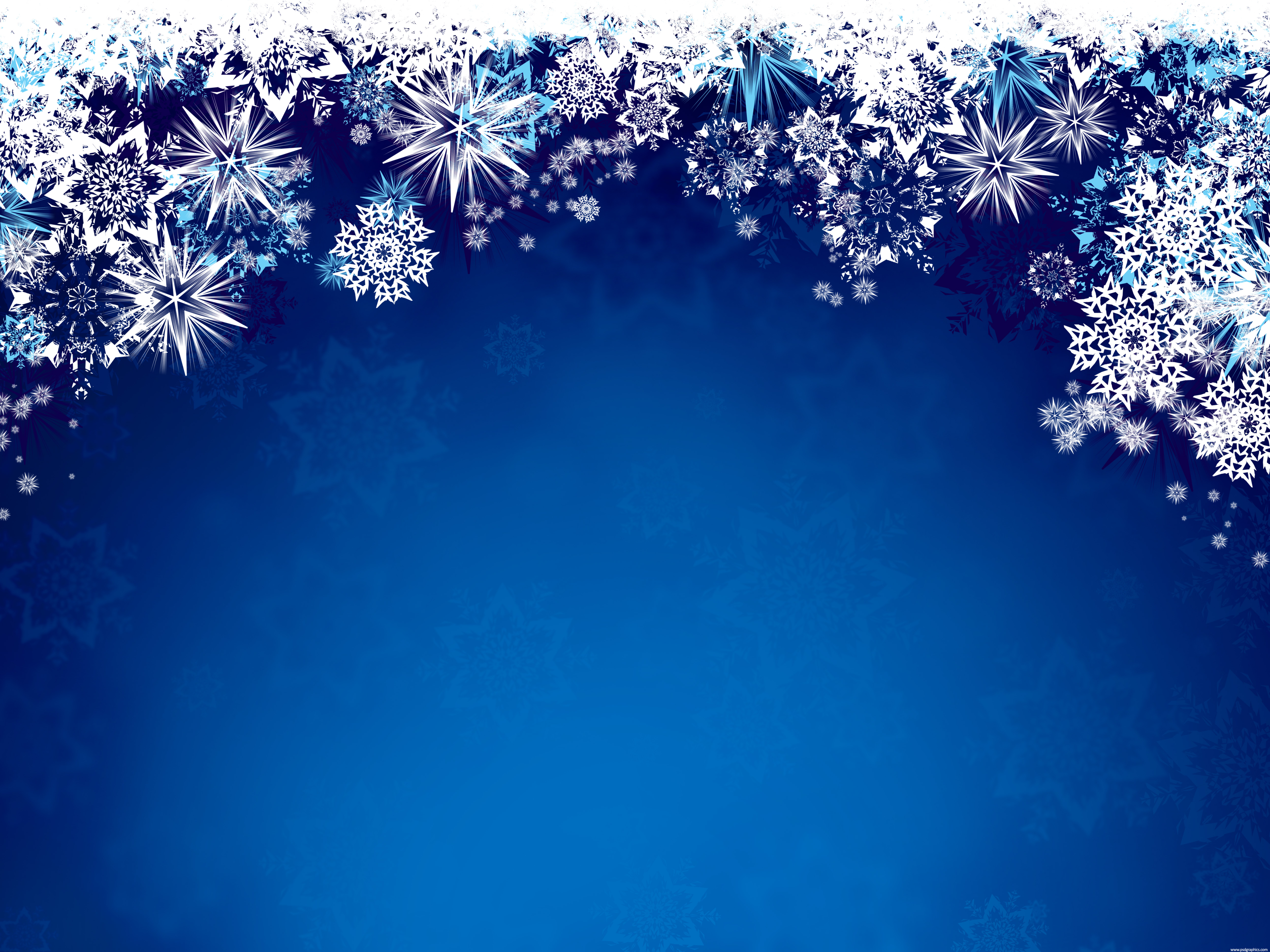 magic winter snowflakes grungy winter design white snow background set 5000x3750