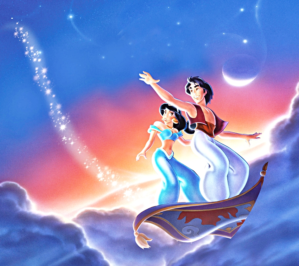 Walt Disney Characters Walt Disney Mobile Wallpapers   Aladdin 960x854