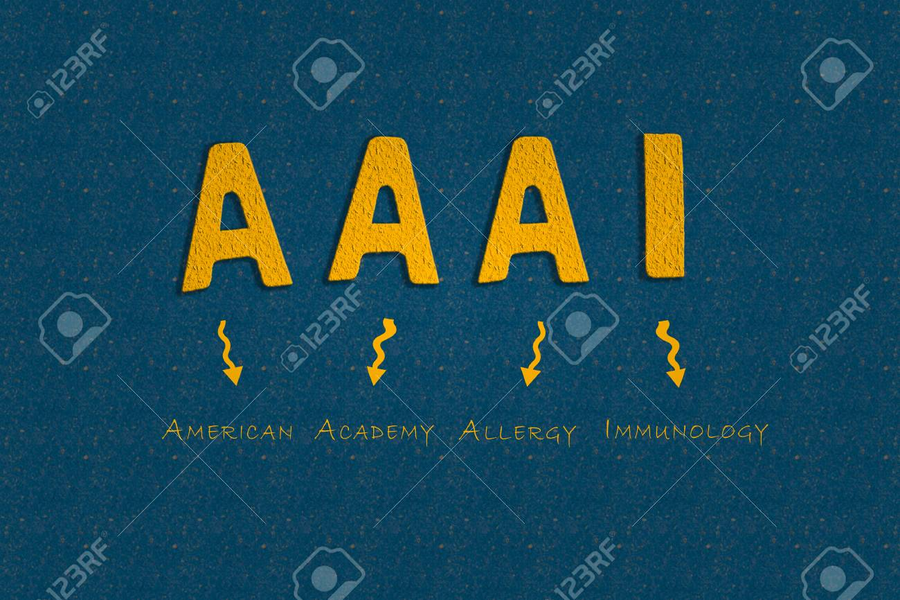 Abbreviation AAAI American Academy Of Allergy And Immunology 1300x866