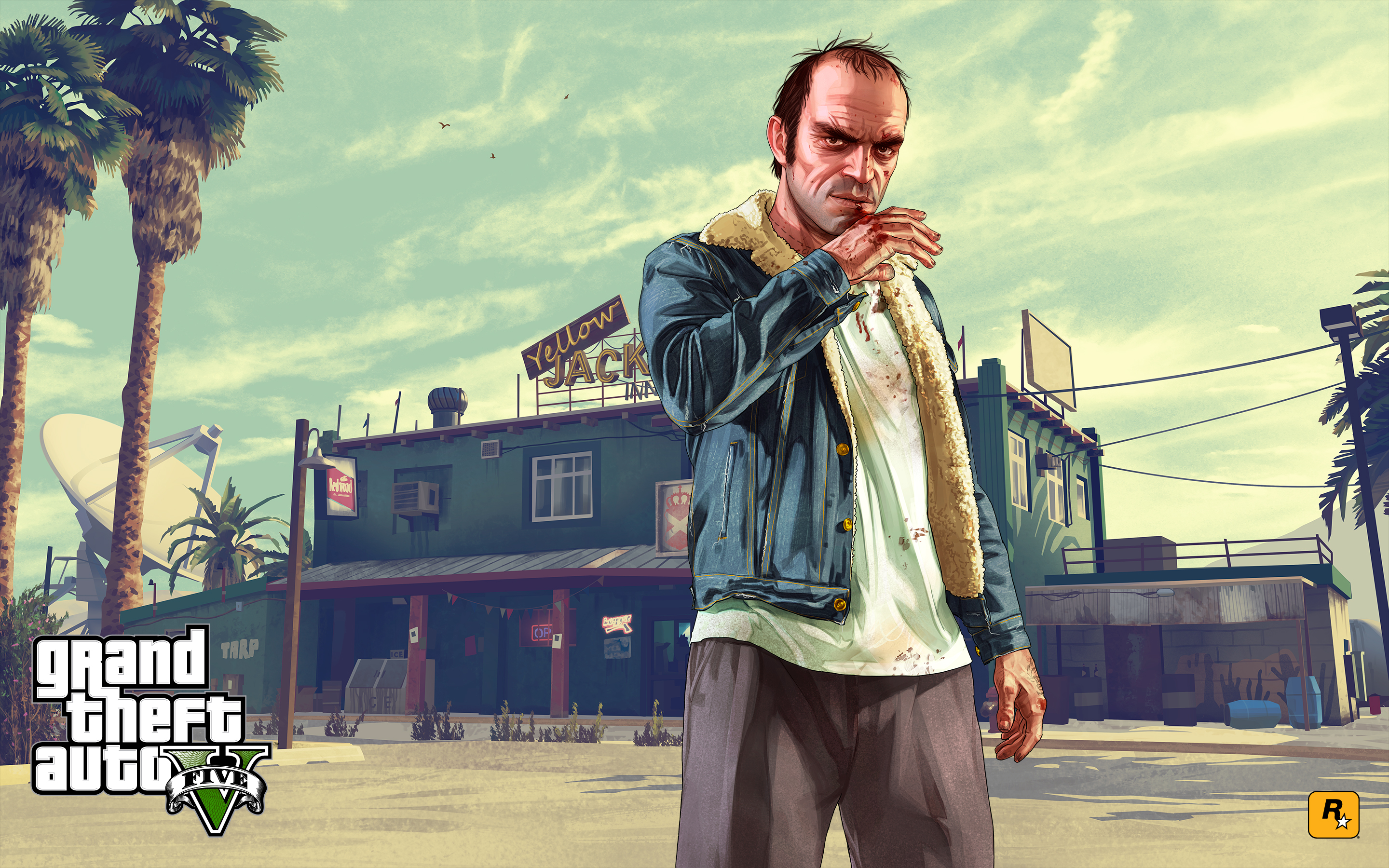 for Grand Theft Auto V on the PS3 Xbox 360 PS4 Xbox One and PC 2880x1800