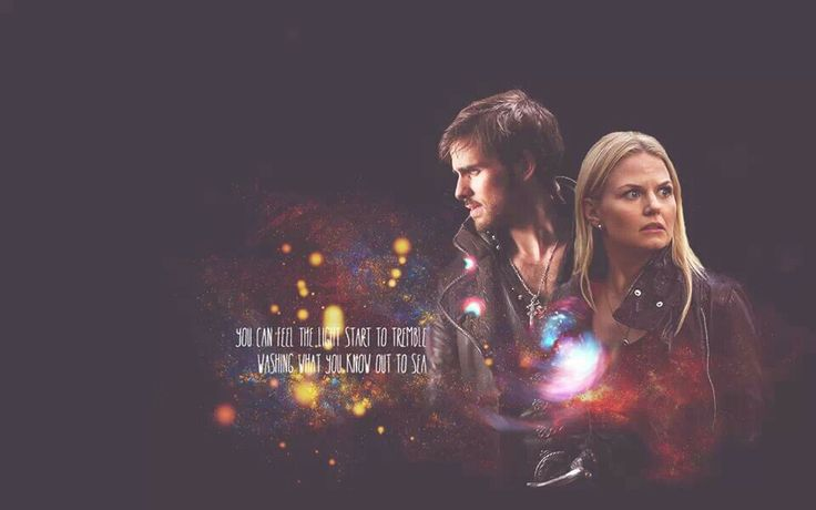 Captain Swan wallpaper Once Upon a Time Pinterest 736x460