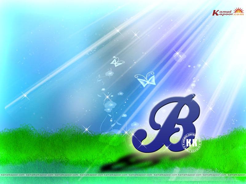 letter b wallpaper