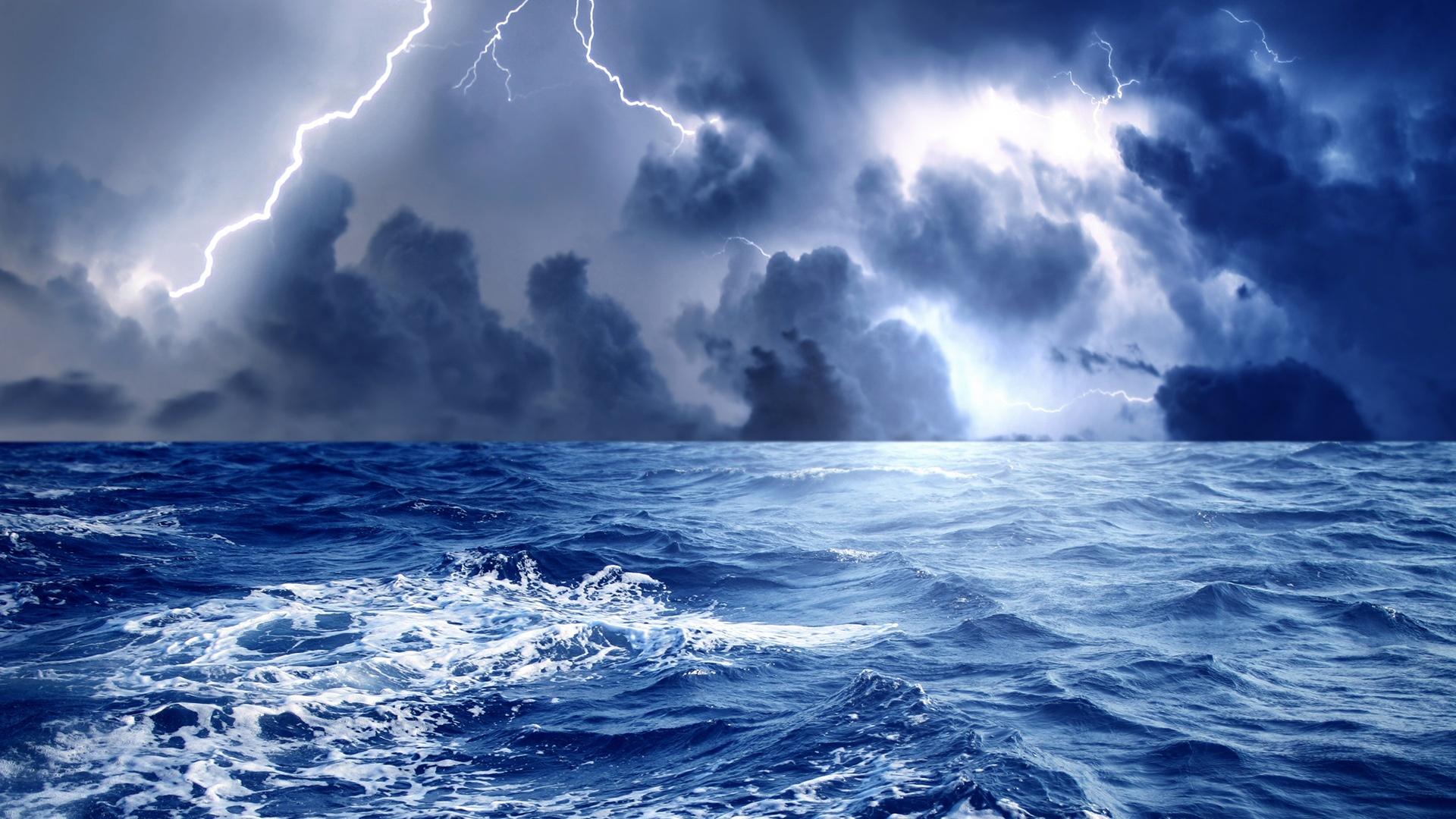 67 Stormy Ocean Wallpaper On Wallpapersafari