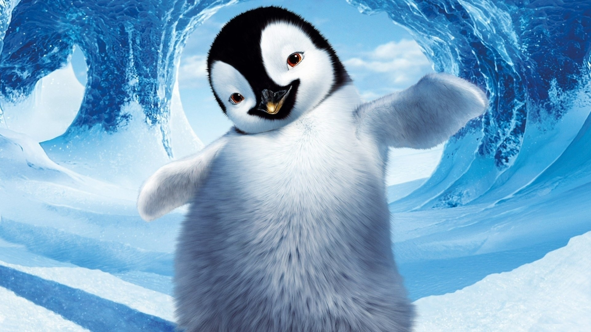 Cute Penguin Wallpaper 1920x1080