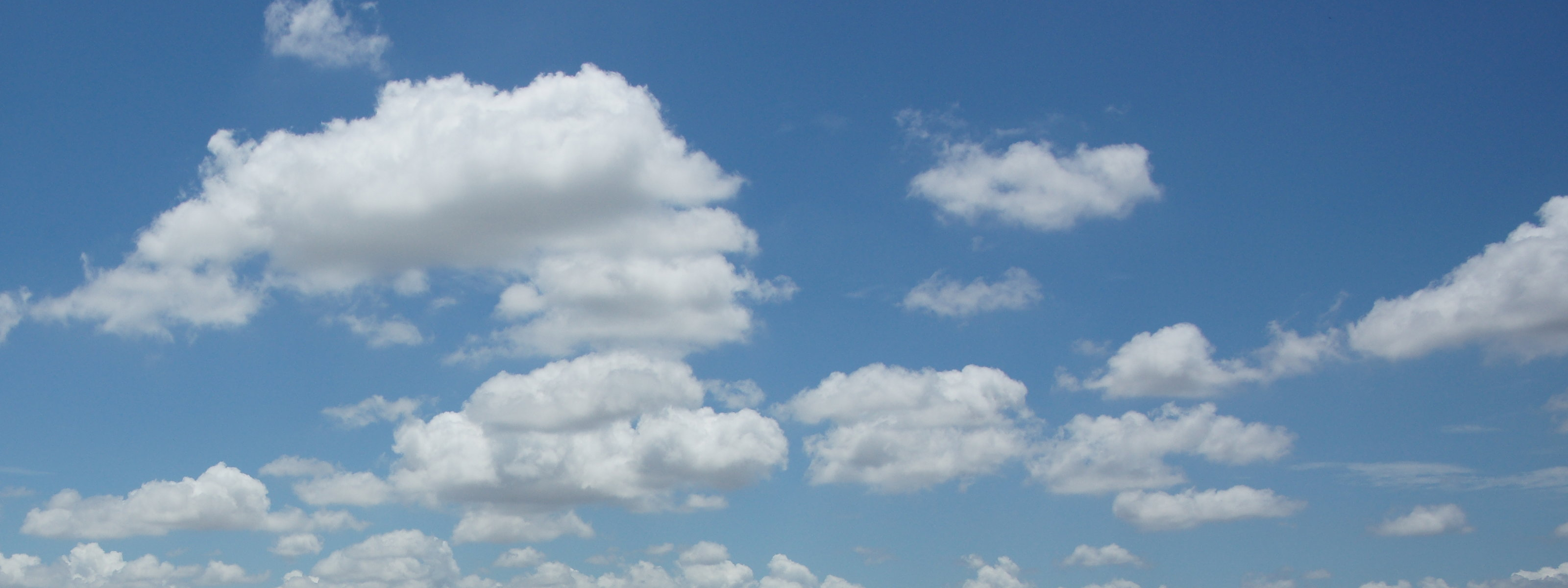 Top Clouds And Blue Sky Wallpapers 3200x1200