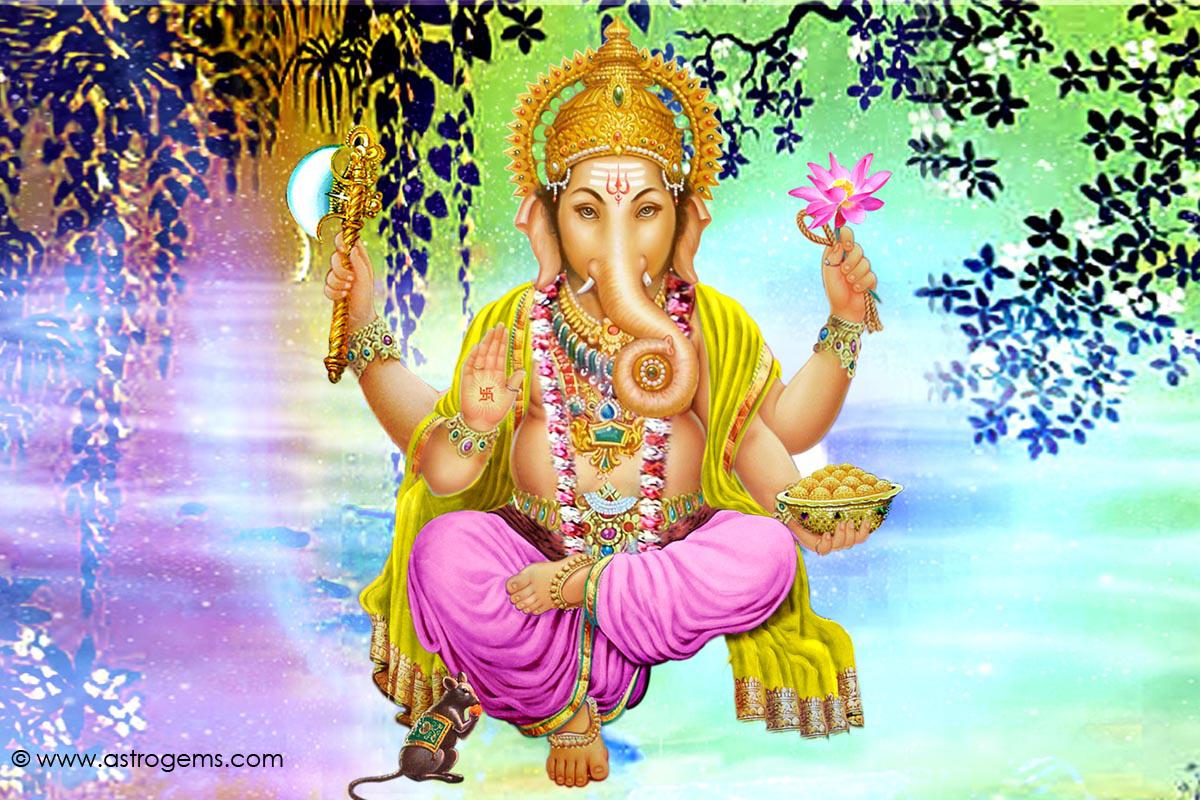 Ganesh Background