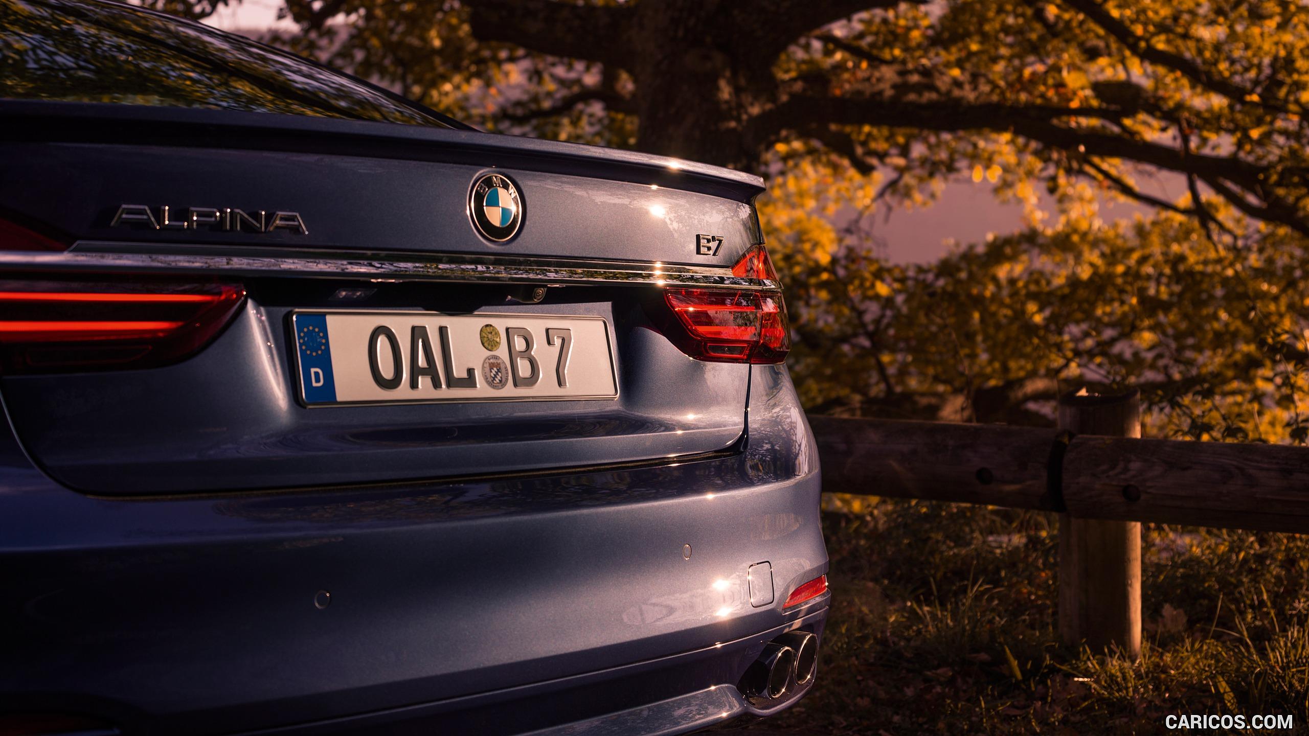 2017 ALPINA BMW B7 xDrive Blue   Rear HD Wallpaper 16 2560x1440