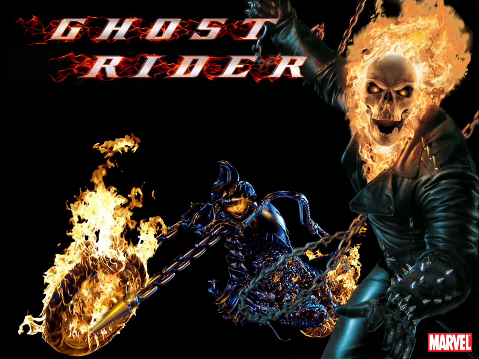 Ghost Rider Wallpaper In 3d Download Wallpaper DaWallpaperz 1599x1200