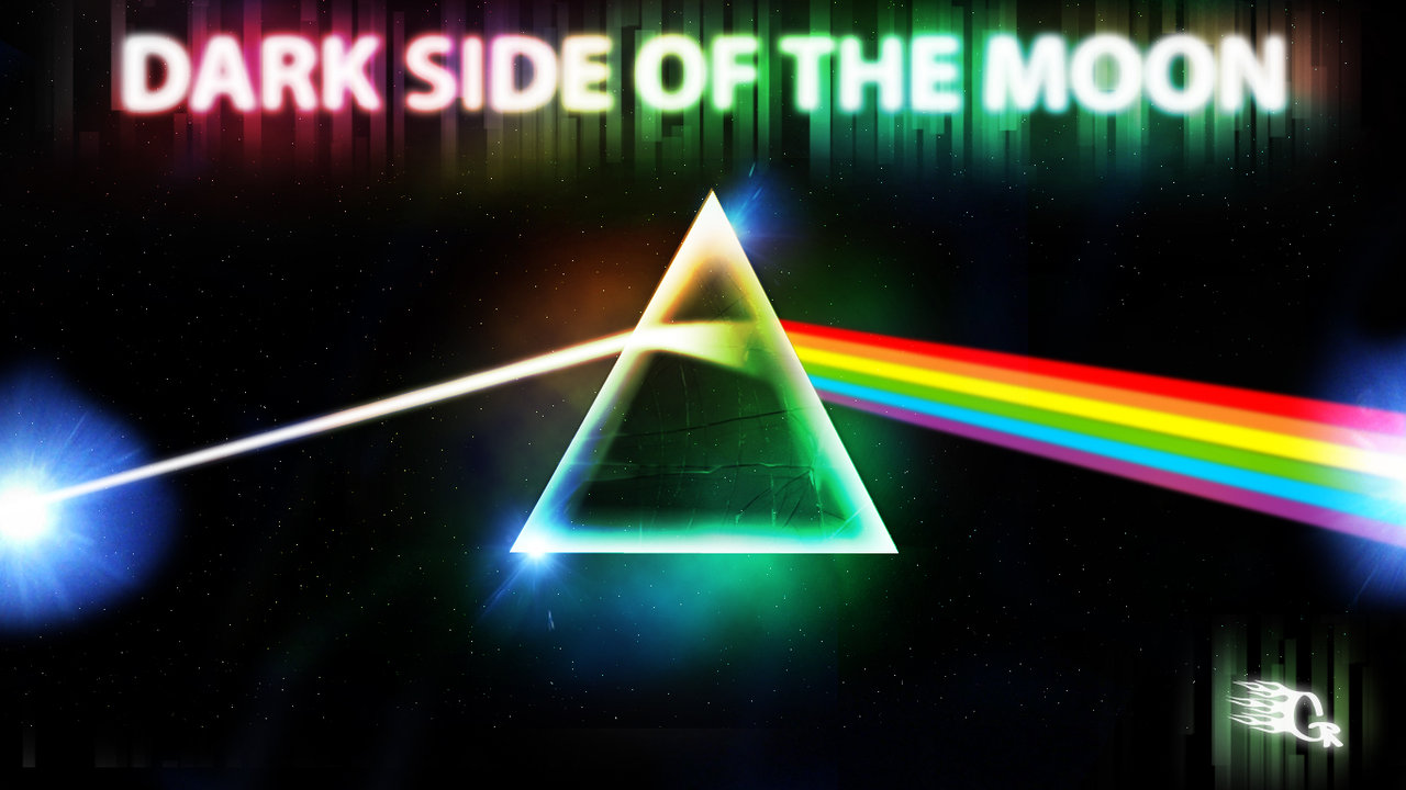 The Dark Side of the Moon by GabeRios 1280x720
