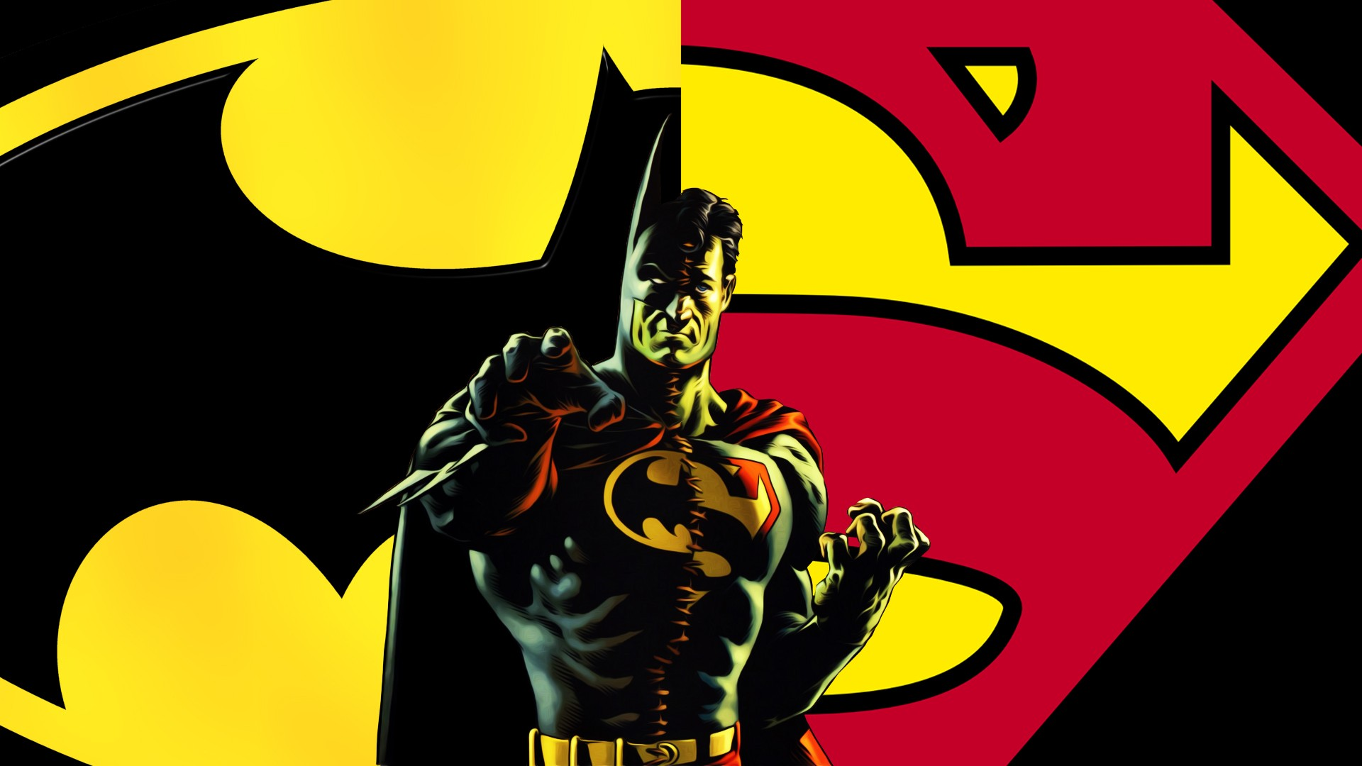 Batman vs superman symbol wallpaper wallpapersafari batman superman3 buycottarizona Gallery